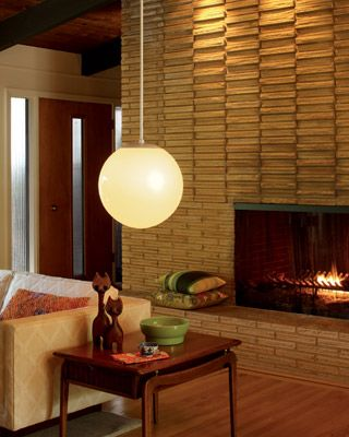 Mid Century Modern Fireplaces cannot get enough of this ranch style mid century modern living