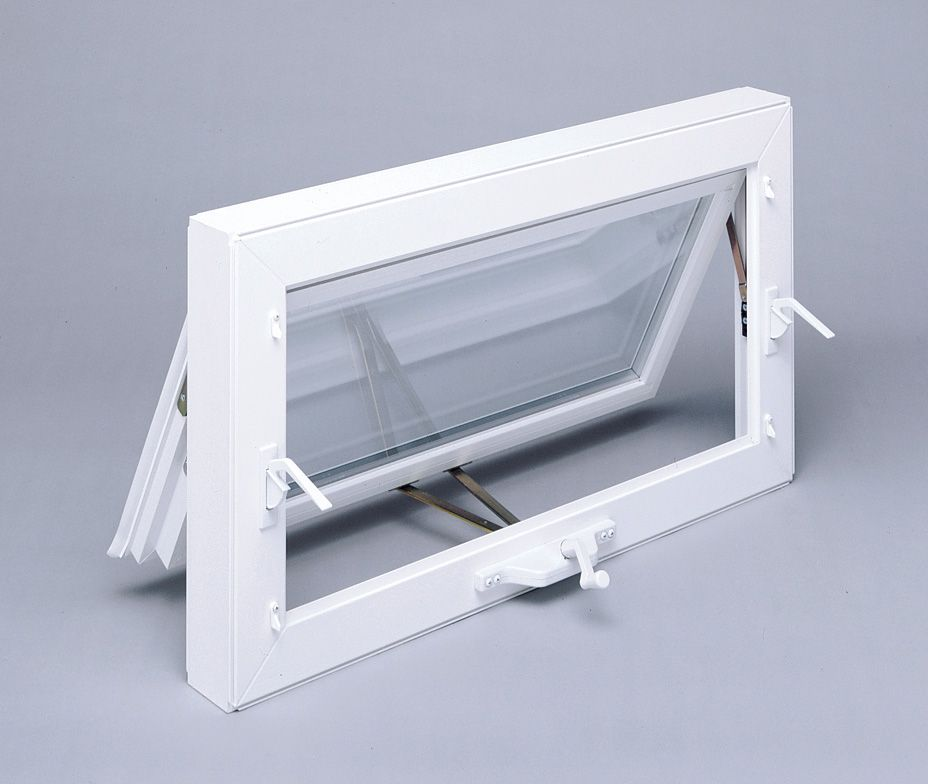 Are Vinyl Or Wood Awning Windows The Right Choice For Your Project Small Bathroom Window Small Bathroom Makeover Awning Windows Bathroom