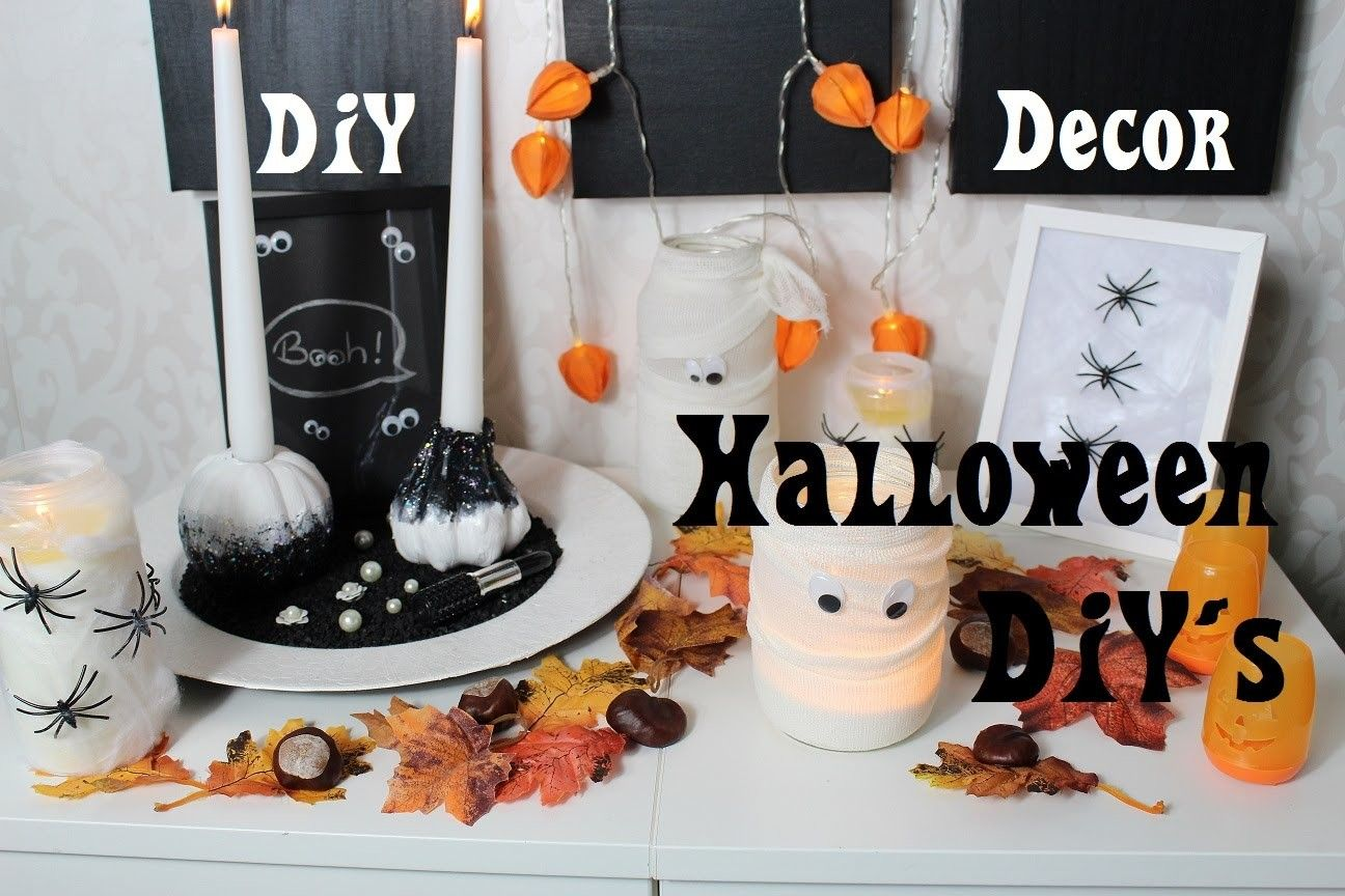 Halloween DIY Decor - Schön, einfach und günstig - halloween diy decor