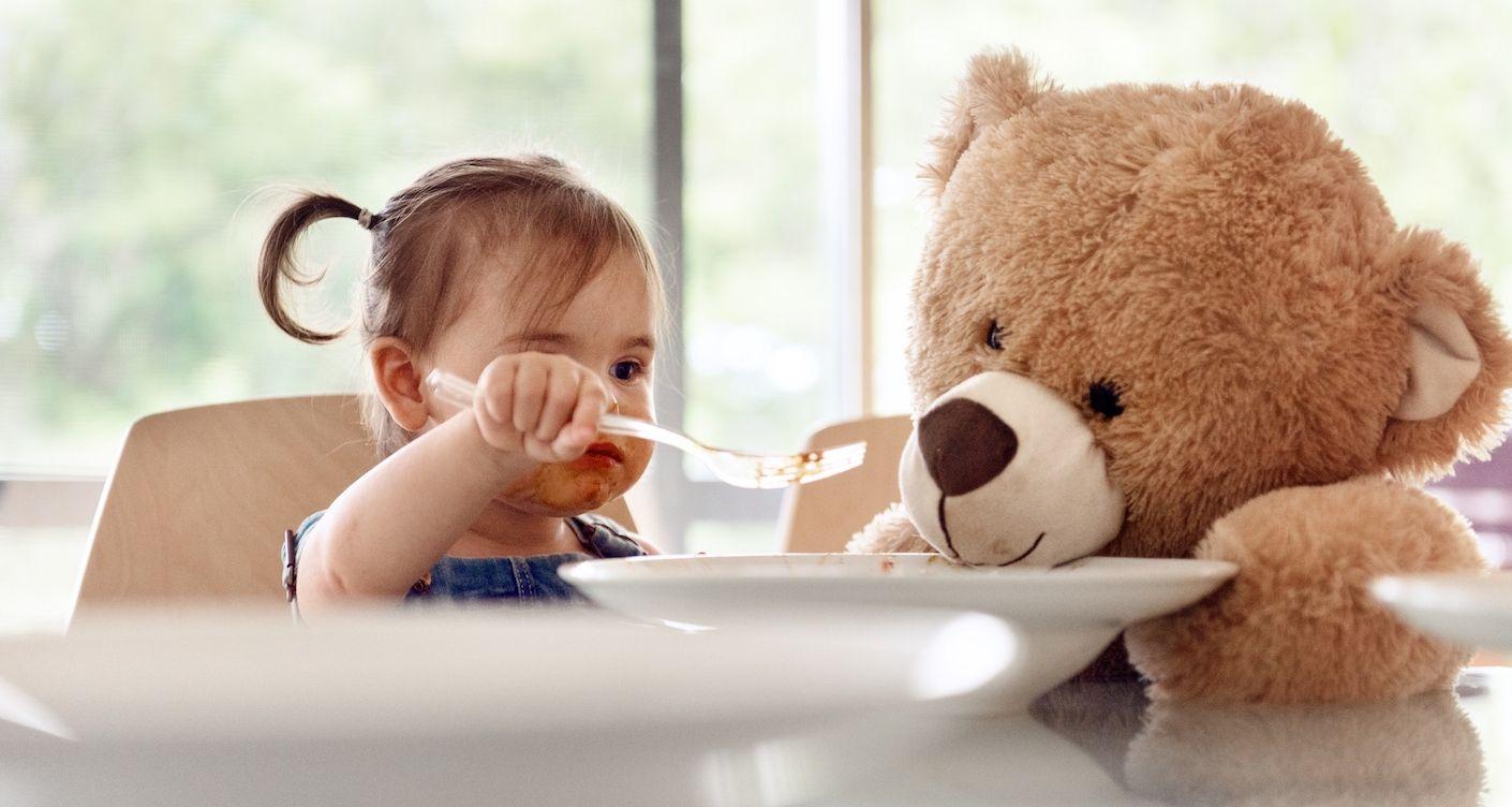 Für erste Essversuche: Hübsches Babygeschirr
