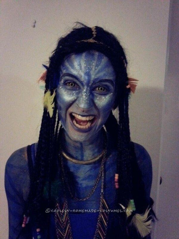 Next-Level Avatar Costume and Makeup   Avatar costumes, Costumes ...