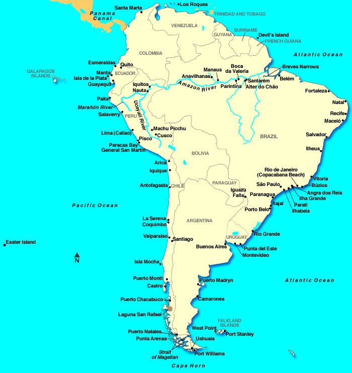 Where Is The Amazon River Map Saeriphinanda: Map Of The Amazon River In South America At Codeve.org