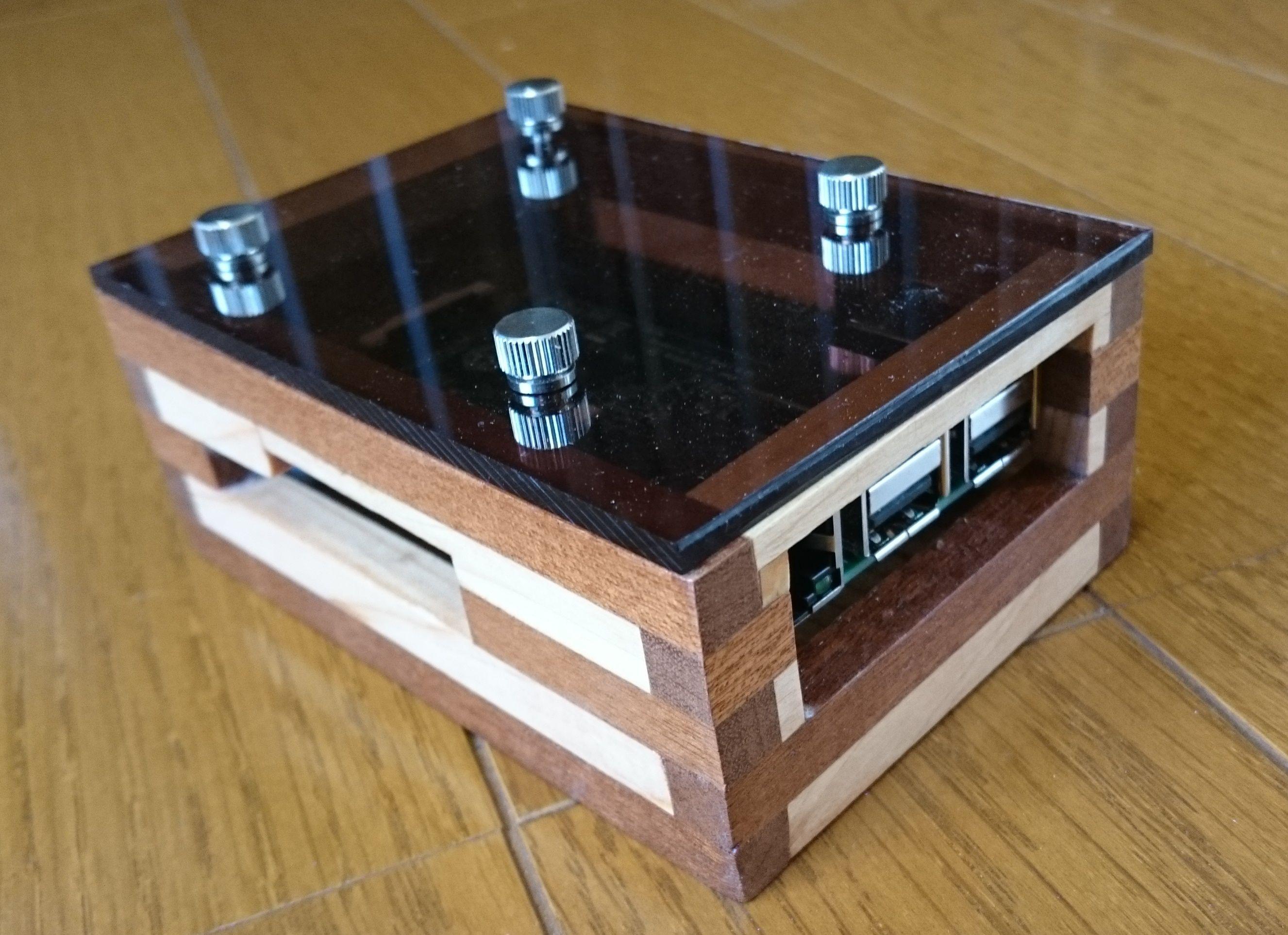 Pin On Wooden Raspberry Pi Case