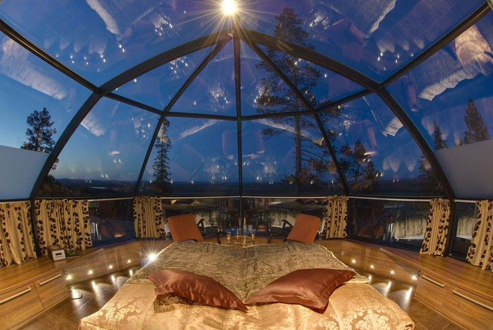 You Can A Gl Igloo In Finland To Watch The Northern Lights Dream Vacation