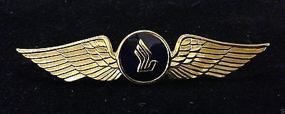 Pilot wings pin badge R A F Airforce flying USAF flier