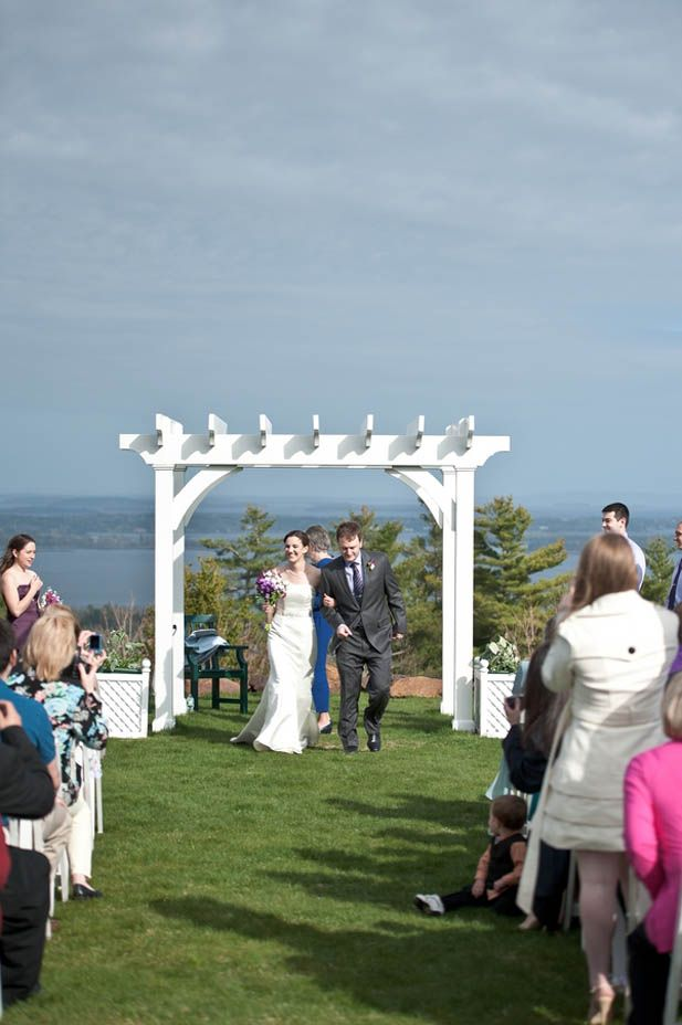 Seaside Maine Wedding At Point Lookout Resort Hotel Venues
