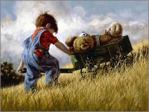 Il Mondo Di Mary Antony I Bambini Di Jim Daly Quadri Pinterest