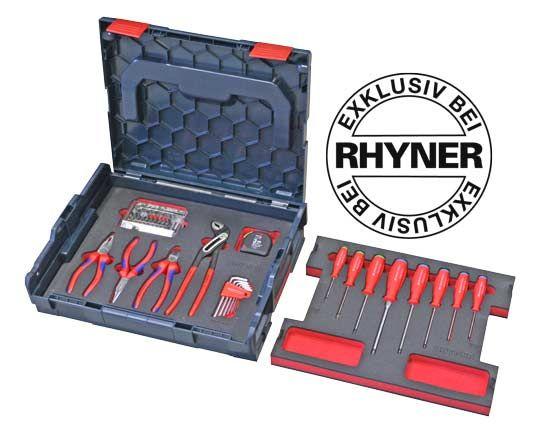 rhyner werkzeug l boxx 46 teilig bosch 01 pinterest werkzeuge werkstatt und kleinigkeiten. Black Bedroom Furniture Sets. Home Design Ideas