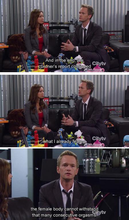 Ahahah Barney