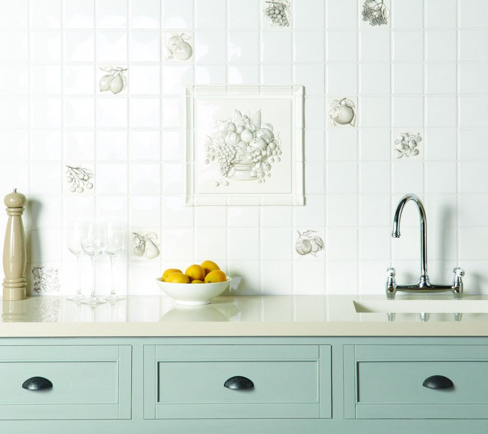 Decorative Pencil Tile Enchanting Coupe De Fruits Decorative Wall Tiles All Pencil Grey On A Inspiration Design