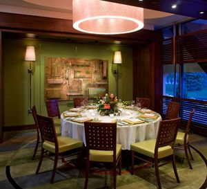 Private Dining Room At Summit Restaurant The Broadmoor Hotel In Colorado Springs