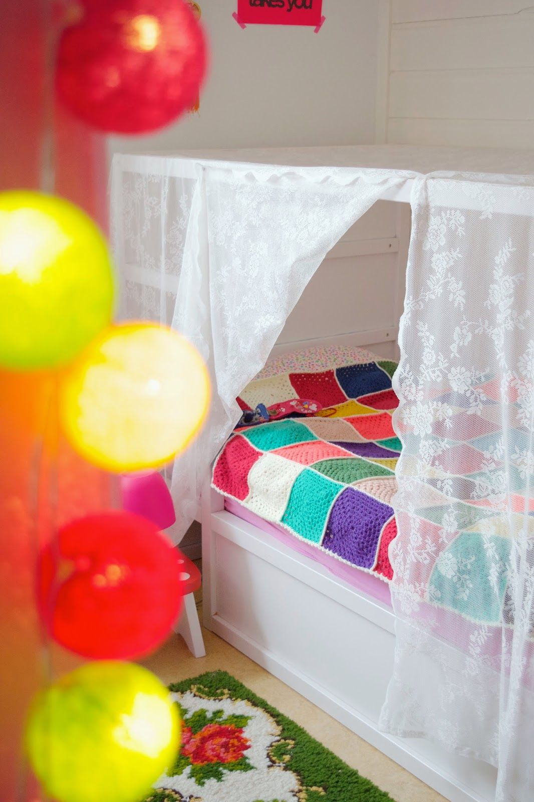 Ikea gordijn als hemeltje, zelfde bed als Elin | lente! | Pinterest ...