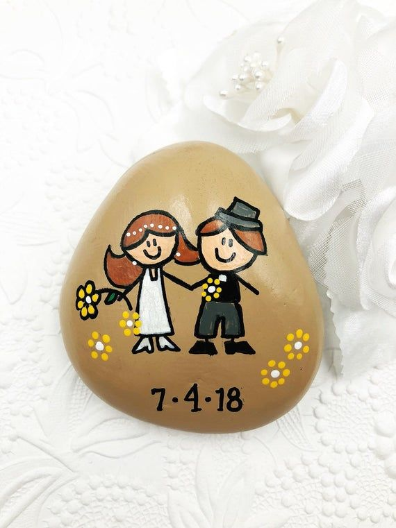 Engagement Story Stones, Wedding Story, Our Love Story, The Story of Us, Wedding Gift, Personalized Gift for Couples, Engagement Gift #steinebemalenanleitung