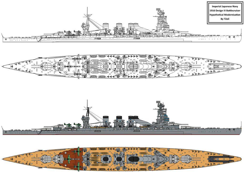 Modernised Design Iii Battlecruiser By S