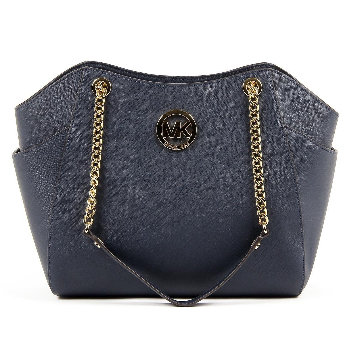 Michael Kors Womens Handbag JET SET TRAVEL 35T5GTVT3L NAVY