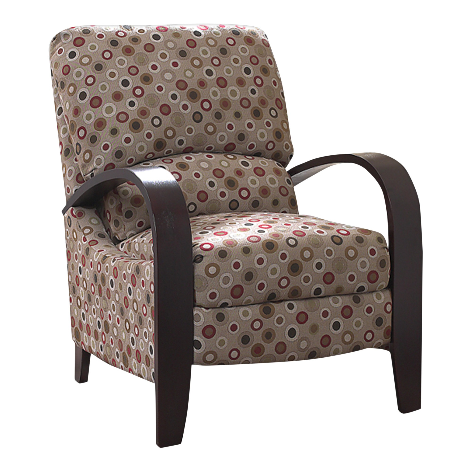 home bent to recliner a in for faux rocker canyon arm chair brown rocking the how of repair quarterback image redesign benchcraft