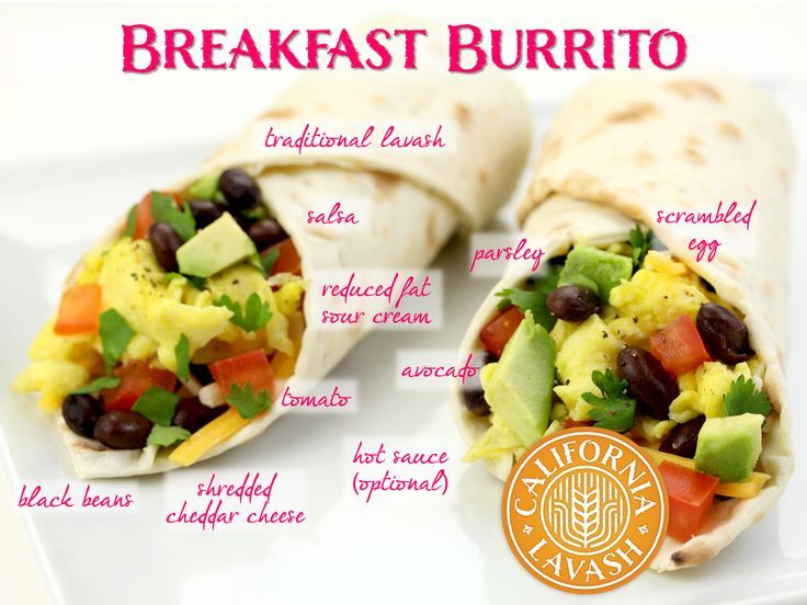California Lavash Breakfasts On Pinterest