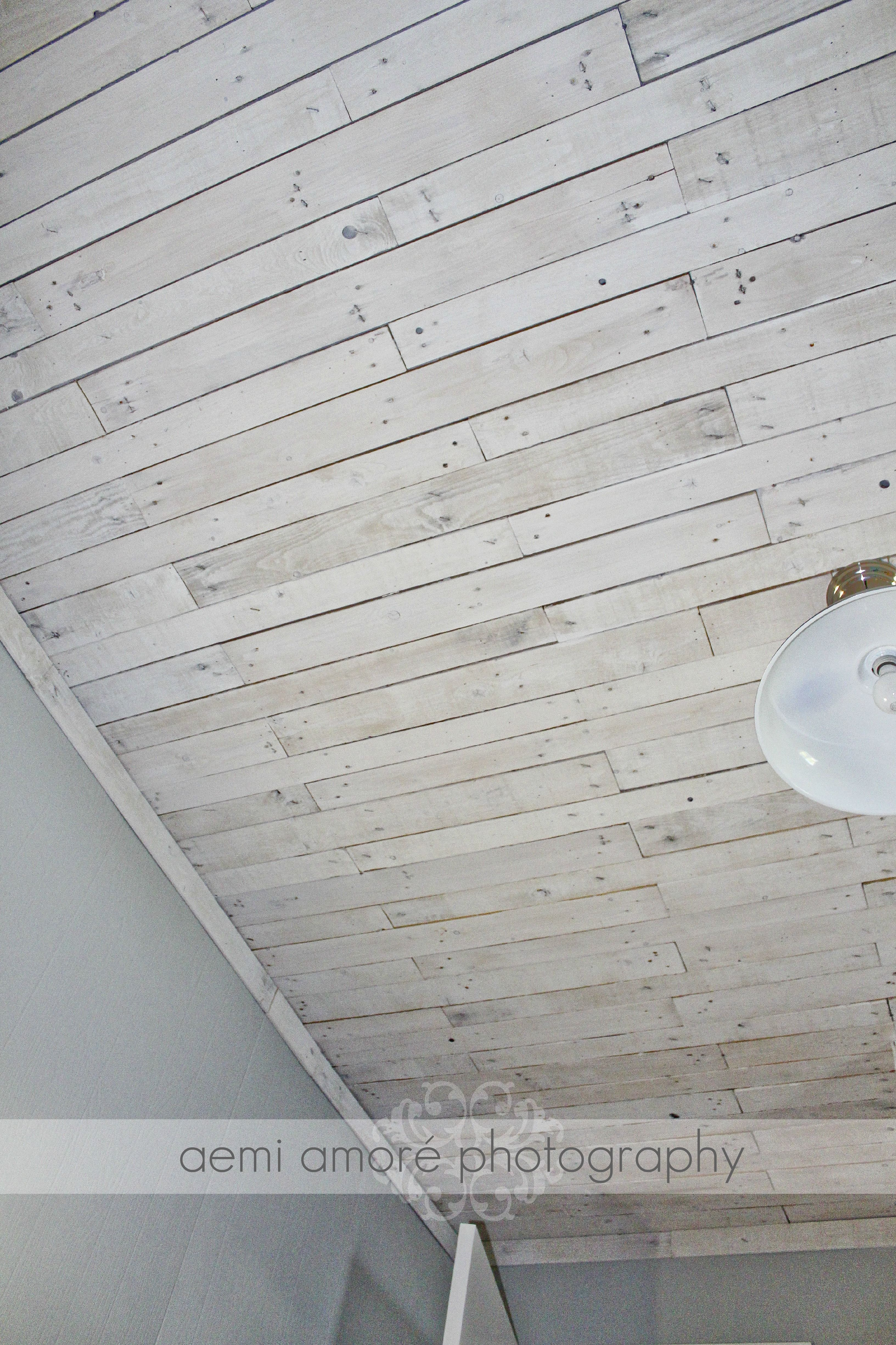 White Washed Wood Ceiling Reused Pallet Facade Google Search Facades And 1391