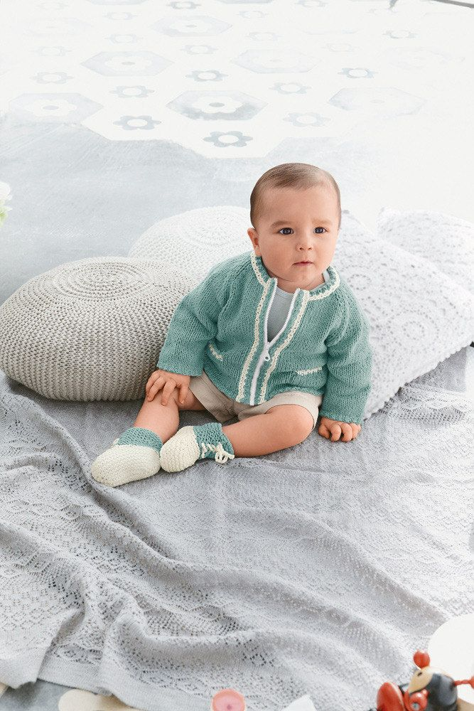 Cardigan and Bootees in Bergere de France Sonora - 23 - Downloadable ...