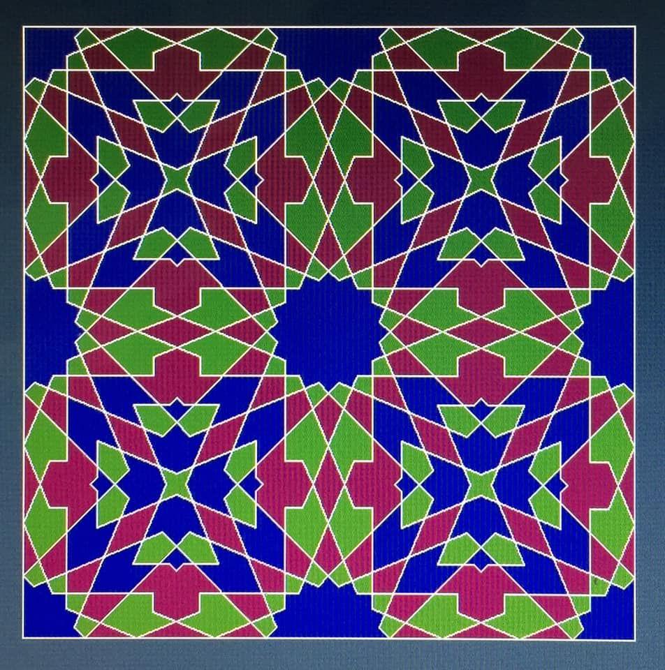 شكل جديد تصميم مغربي Islamic Patterns Geometric Art Kids Rugs