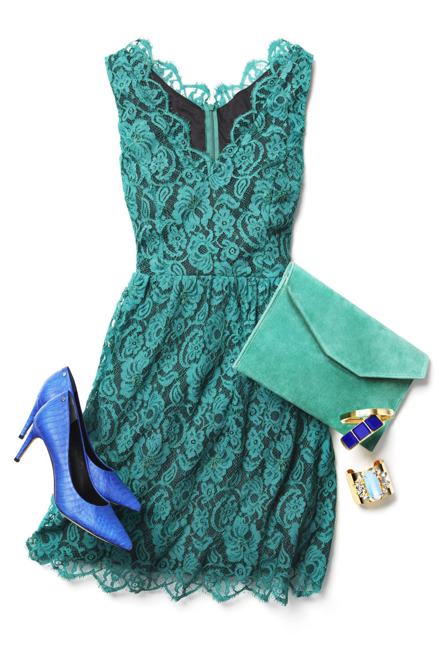 Vestido verde  03228daf49af