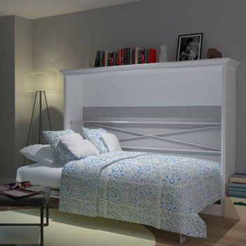 bed u0026 room porter full landscape wall bed in white horizontal murphy bed