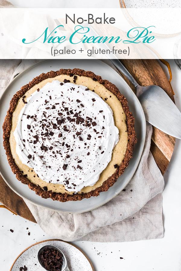 No-bake Nice Cream Pie | Nice cream pie, Nice cream cake ...