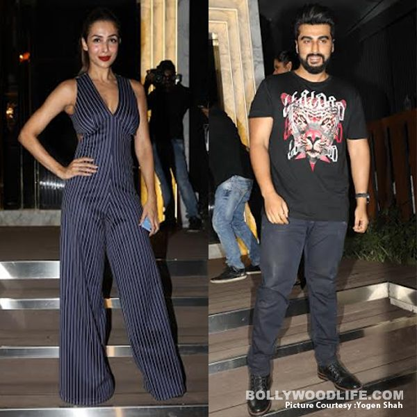 Malaika Arora And Arjun Kapoor Were Snapped At The Launch -3930