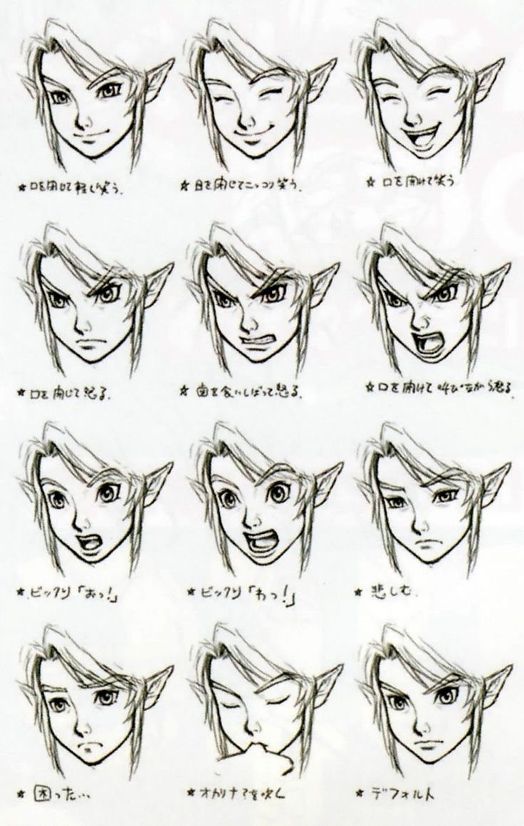 1000+ images about Anime/Manga expressions on Pinterest