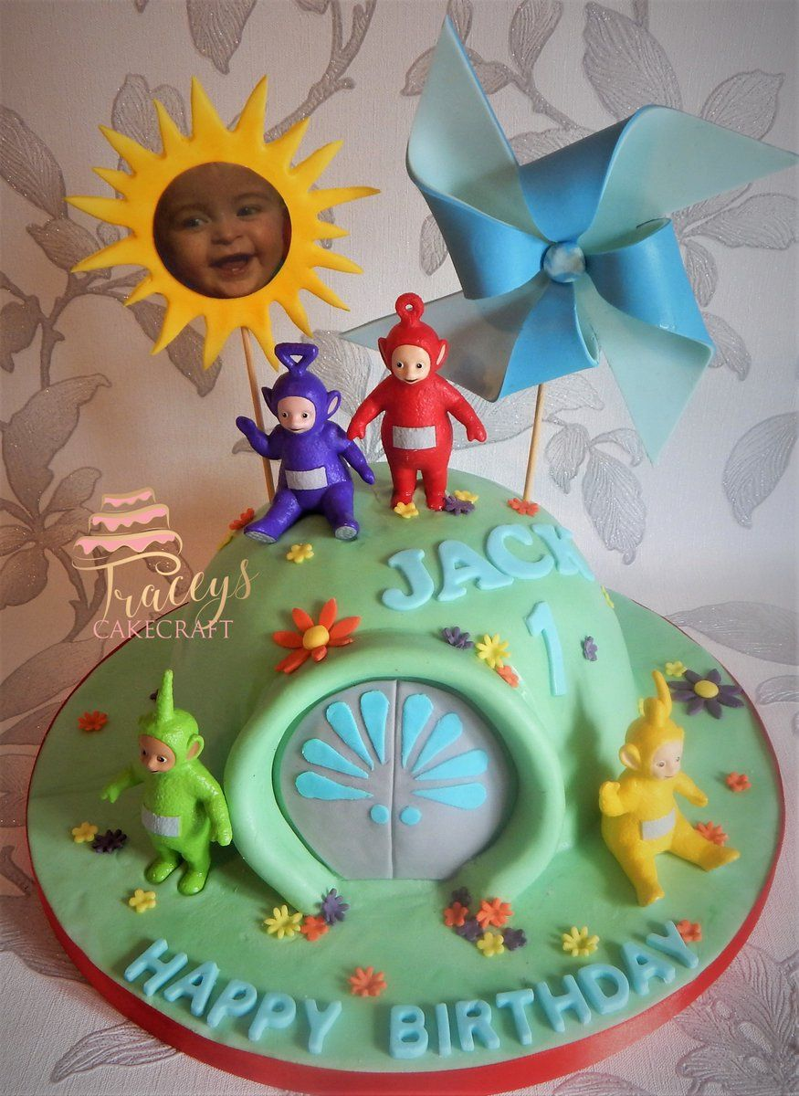 Phenomenal Teletubbies Birthday Cake With Images Teletubbies Birthday Birthday Cards Printable Nowaargucafe Filternl