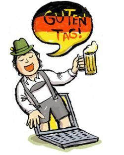 Learning German for Free the Amazing and Weird Online