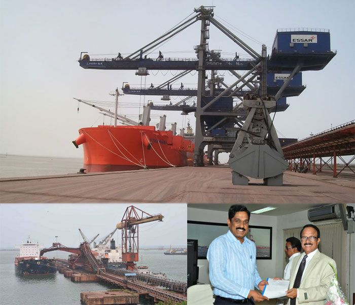 Essar Ports Hazira Captures the 15 MT Cargo Click The link: http://cargoservicestoindia.tumblr.com/post/143777429836/essar-ports-hazira-captures-the-15-mt-cargo