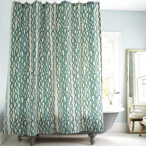 River Rock Shower Curtain Westelm