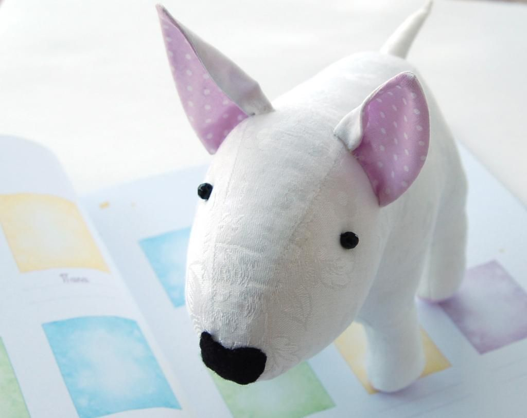 Sewing pattern bullterrier toy dog bytpc sew pattern sewing youre going to love sewing pattern bullterrier toy jeuxipadfo Images