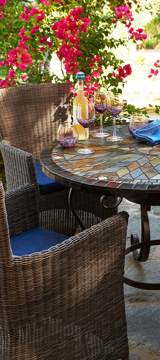 Mosaic Round Table | Outdoor Living