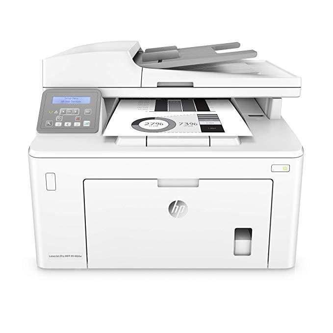Amazon Com Hp Laserjet Pro M148dw All In One Wireless Monochrome Laser Printer Amazon Dash Replenishment Ready Wi Wireless Printer Laser Printer Mobile Print