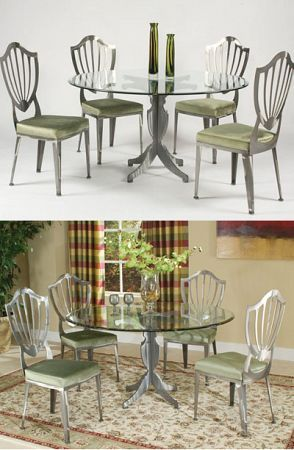 Williamsburg Dining Set From Johnston Casuals Furniture.  Www.johnstoncasuals.com