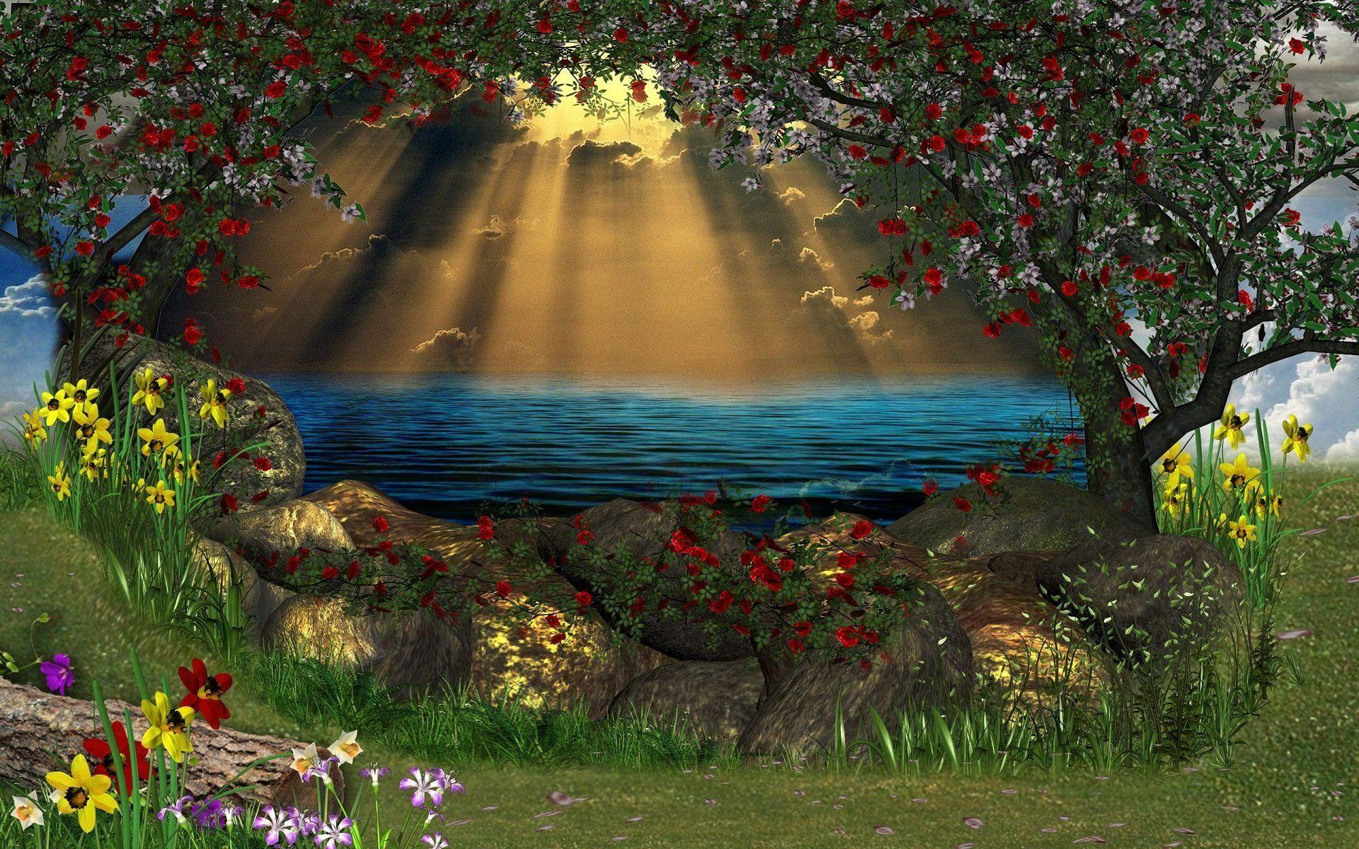 3d nature wallpaper for