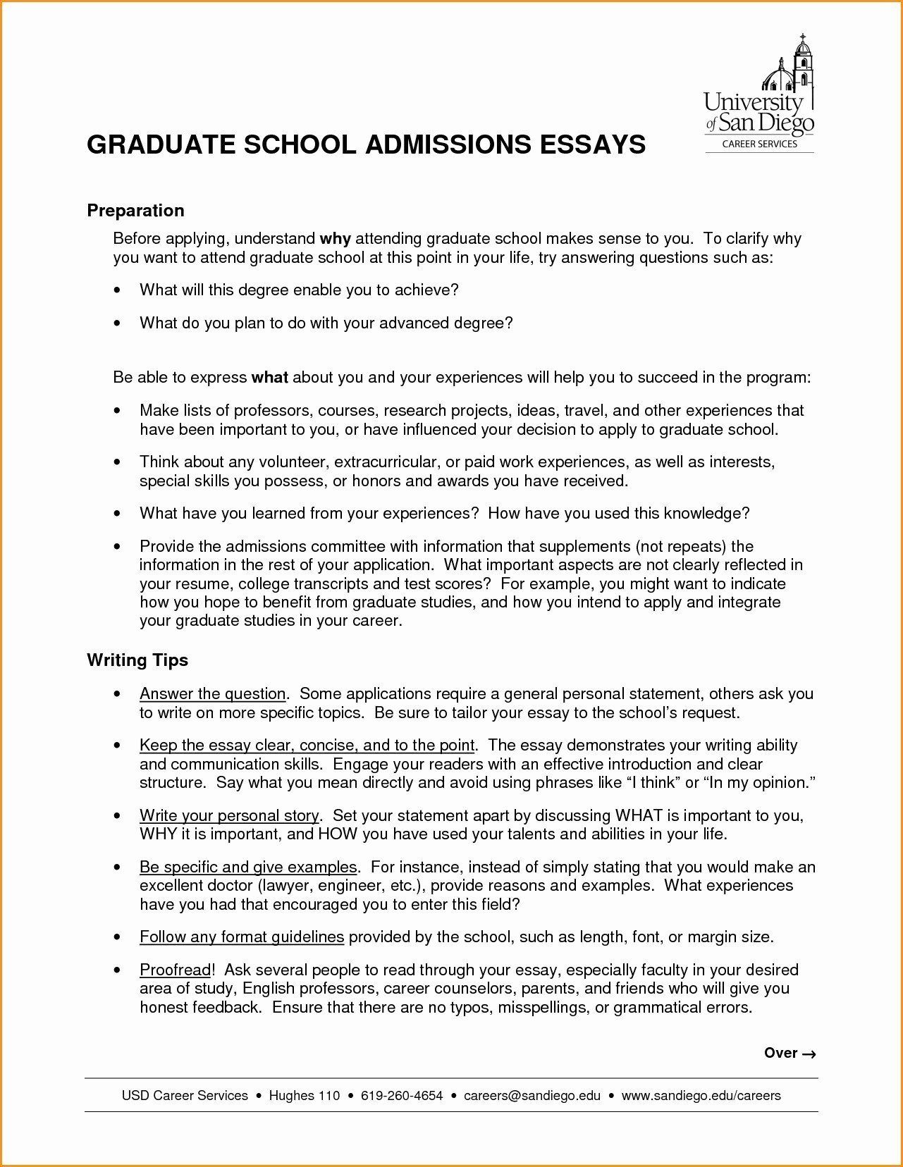 32 Fresh Resume for Masters Degree in 2020 Admissions