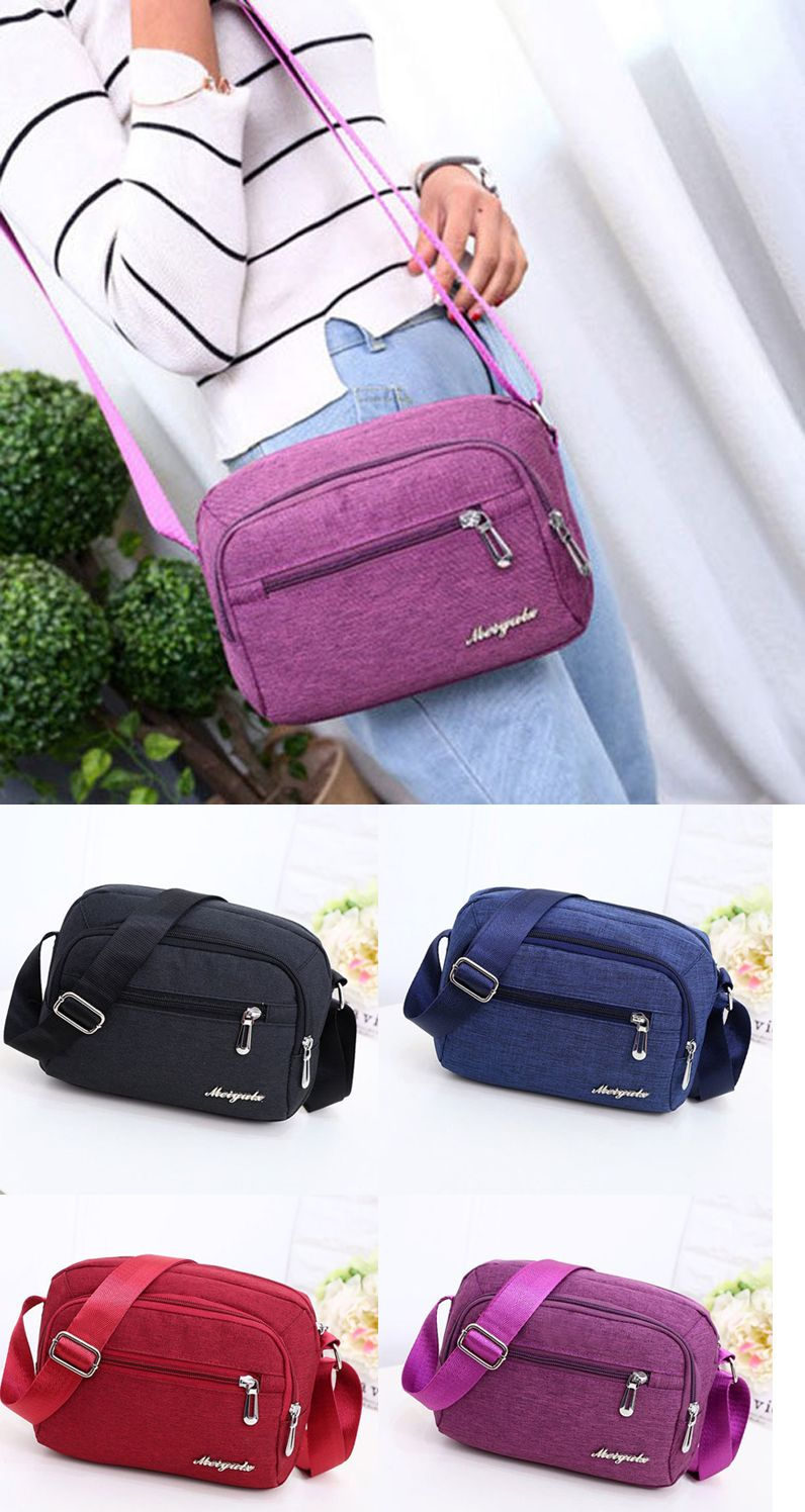 a38c2dd5e3b6 Women Nylon Square Crossbody Bag Casual Outdoor Shoulder Bag in 2018 ...