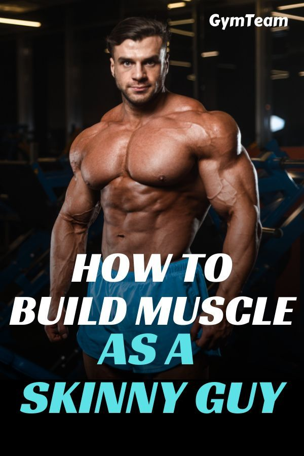 How Build Muscle as a Skinny Guy | 6 tips that you can implement today to start building muscle when...