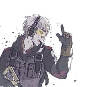 I'm guessing this is what Robin would look like if he were in a first person shooter game. (Fire Emblem: Awakening - Robin)