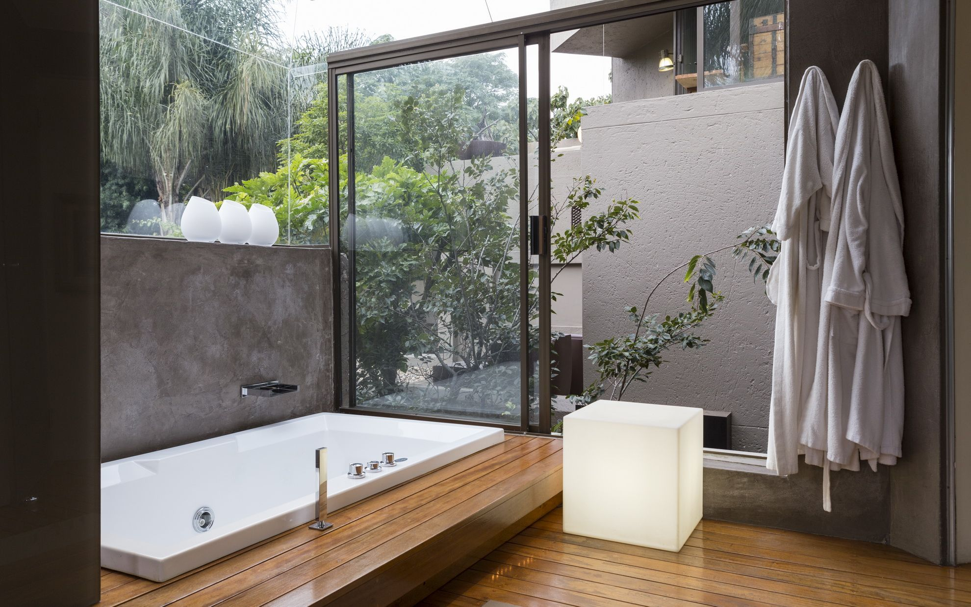 House Fern Bathroom Nico Van Der Meulen Architects Design