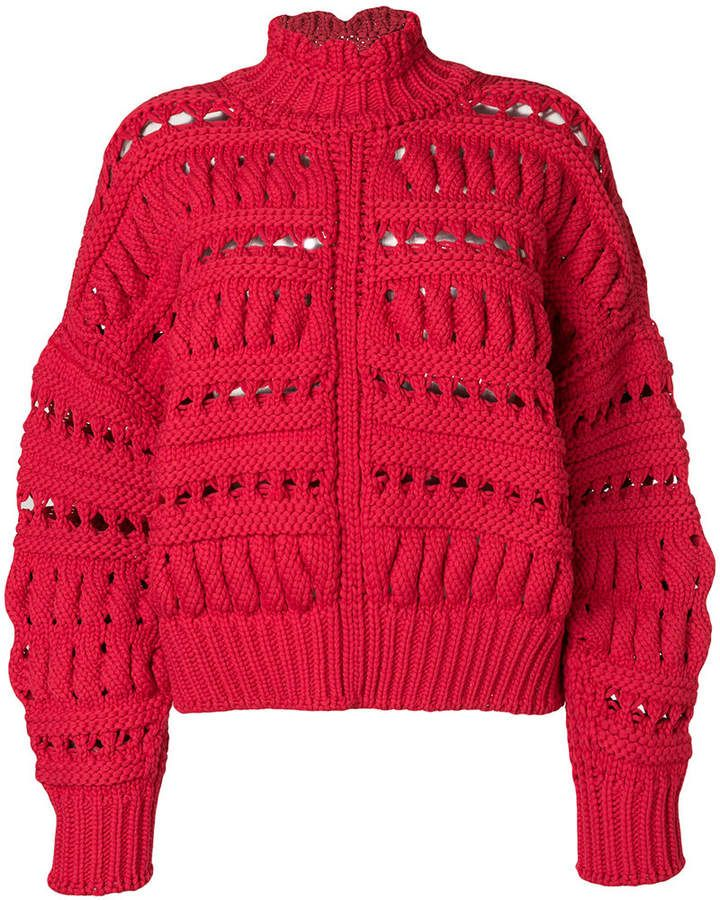 cccf031ae99 Isabel Marant Zoe knit jumper | tejido | Chunky oversized sweater ...