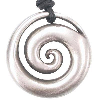 Hypnotic spiral shell pewter pendant necklace dan jewelershttp hypnotic spiral shell pewter pendant necklace dan jewelershttpamazon aloadofball Image collections