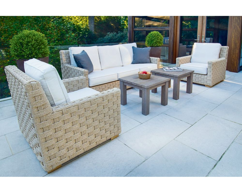 Add Transitional Flair To Your Patio Or Deck With The Kingsley Bate St There Are Two Lounge Chairs And One Three Sea