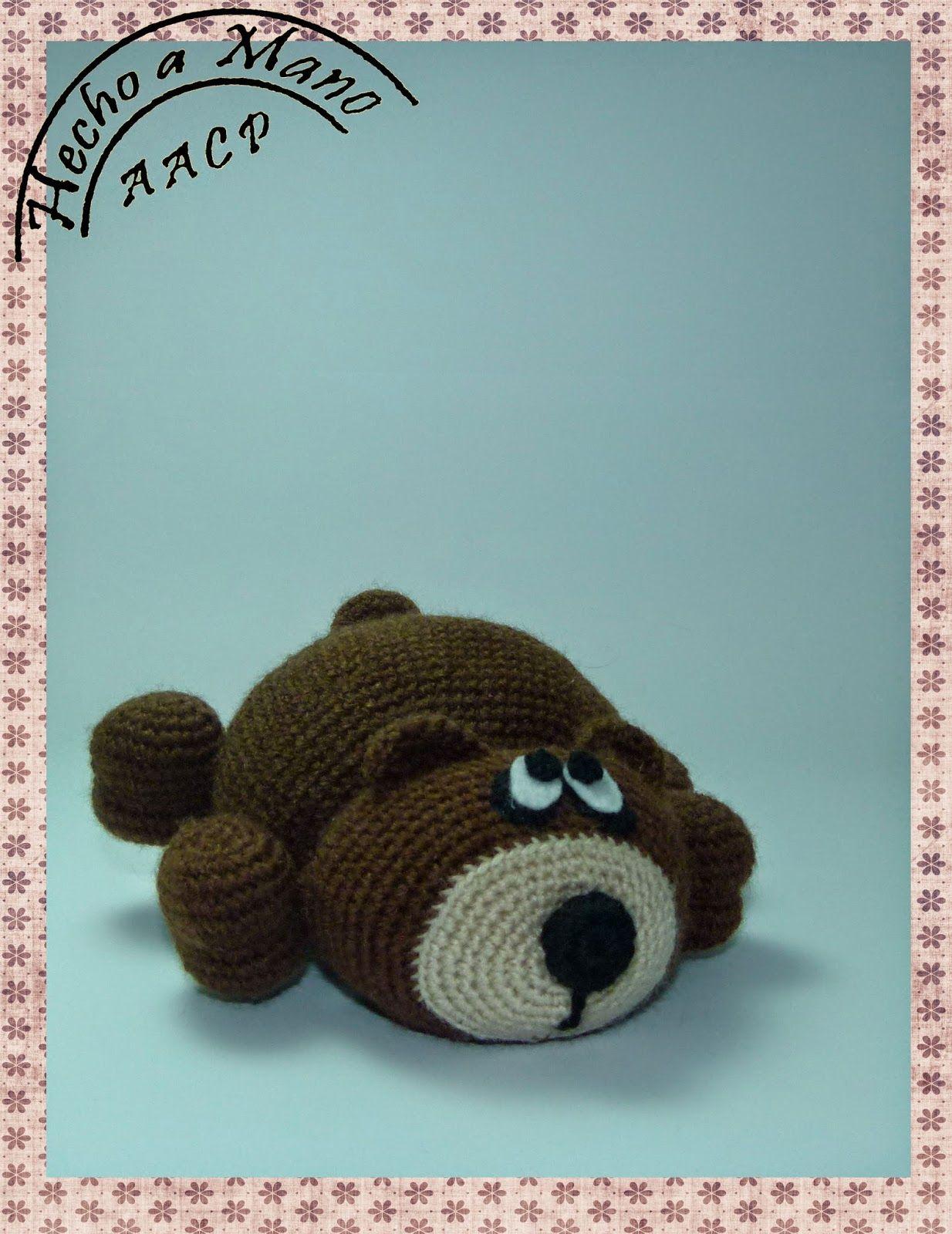 Creando Mingumios de esos....: OSITO PEREZOSO | Crochet Muñecos ...
