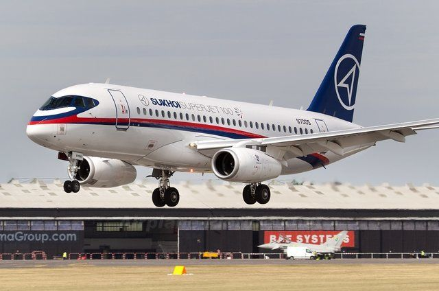Iran Bought 12 Sukhoi Superjet 100's From Russia
