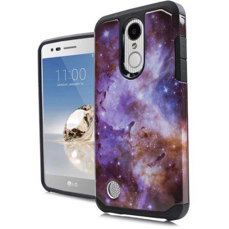 Mundaze Stardust Design Duo Slim Case For LG Fortune 2 Phone