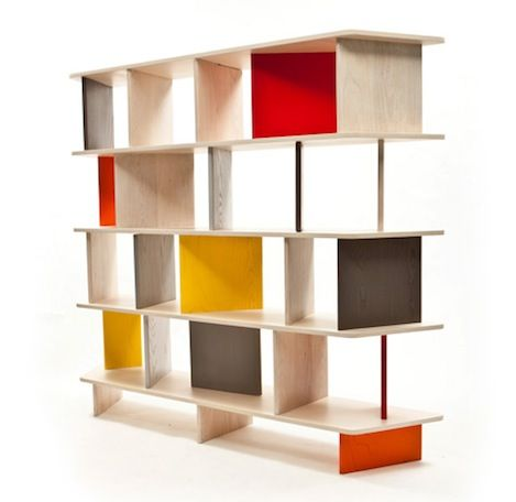 Colorful 2b Bookcase By Mob Classic Shelves